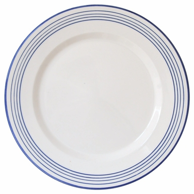 Linea Blue Dinner Plates by Azulina Ceramics