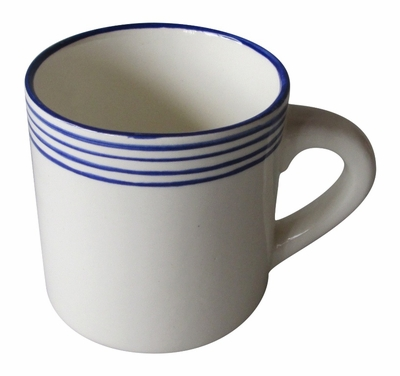 Linea Blue Mugs by Azulina Ceramics