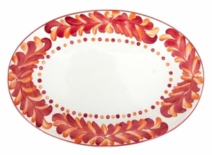 Amapola Serving Platter by Azulina Ceramics