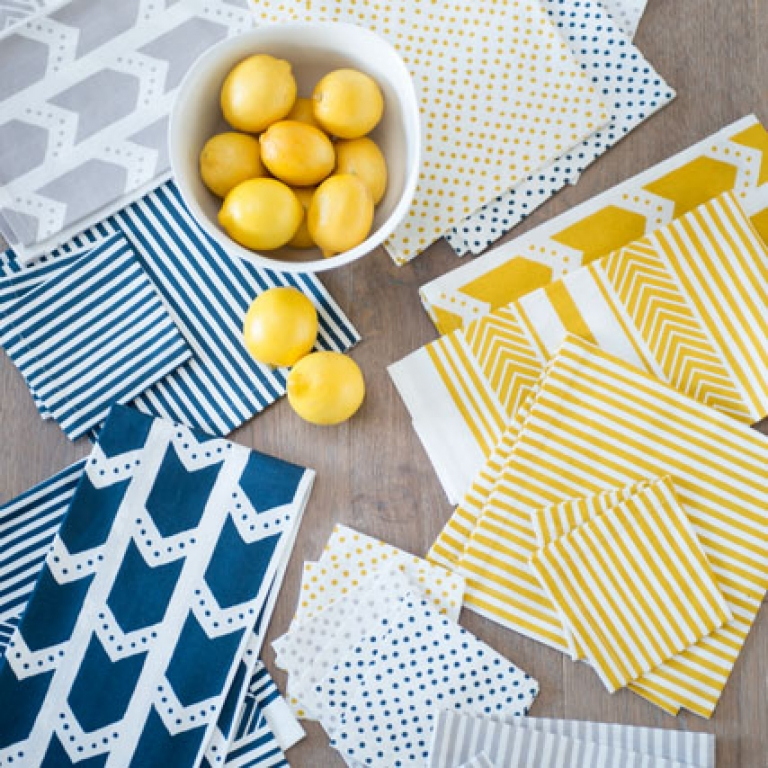 Kitchen + Dinnerware Linens by Zestt