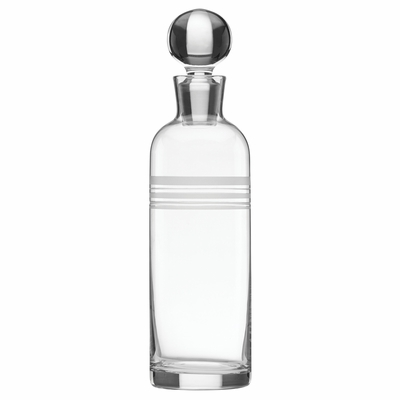 A Farm-to-Table Thanksgiving | kate spade new york Library Stripe Decanter at Table + Dine