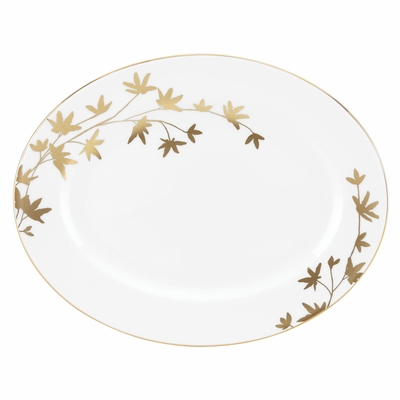 A Farm-to-Table Thanksgiving | kate spade new york Oliver Park Serving Platter at Table + Dine