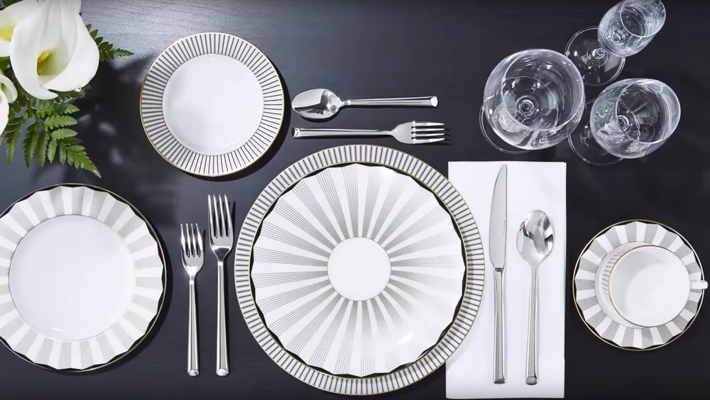 Brian Gluckstein Aubrey China Collection available at Table + Dine