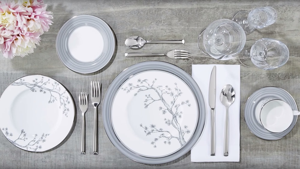 Brian Gluckstein Willow China Collection Available at Table + Dine