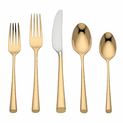 Marchesa Imperial Caviar Gold Flatware