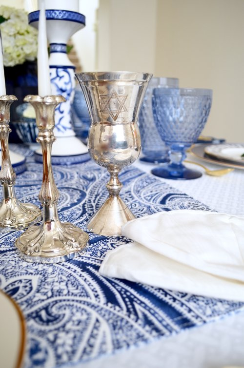 Setting A Passover Seder Table Table Dine By Deborah Shearer