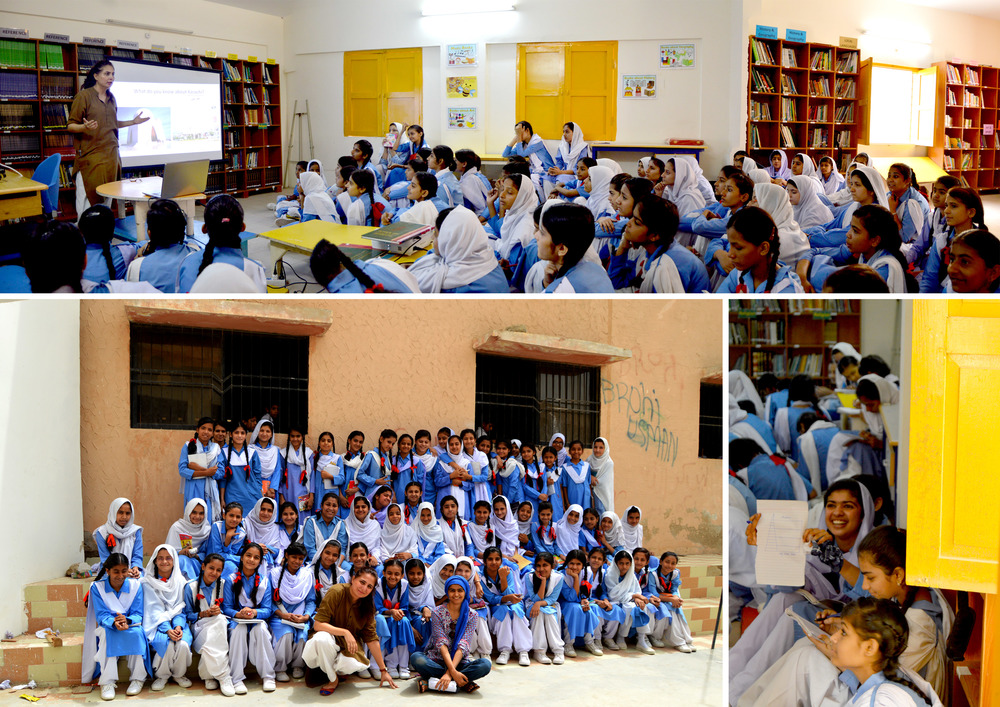 HAP at Gizri Girls Secondary School, Karachi. | 20th April, 2015