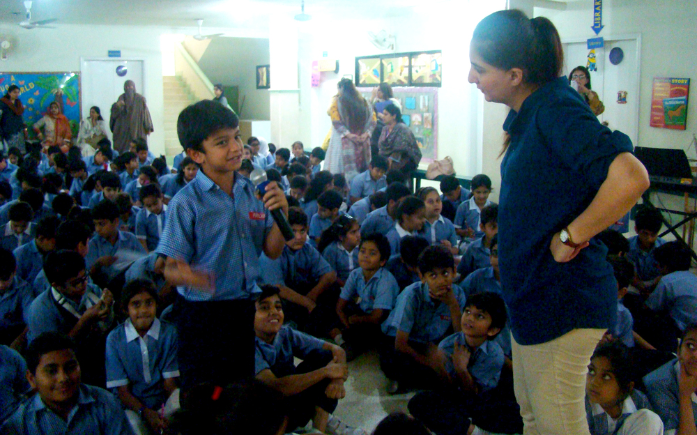 HAP at Froebels Education Center, Karachi. | 16th March 2015