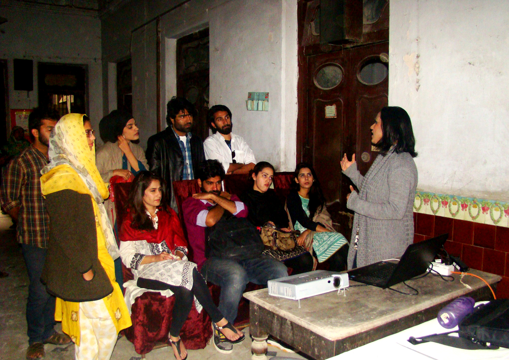 Heritage Safeguarding Event by the Heritage Foundation at Sita Ram building in Saddar, Karachi | 22nd January 2015.