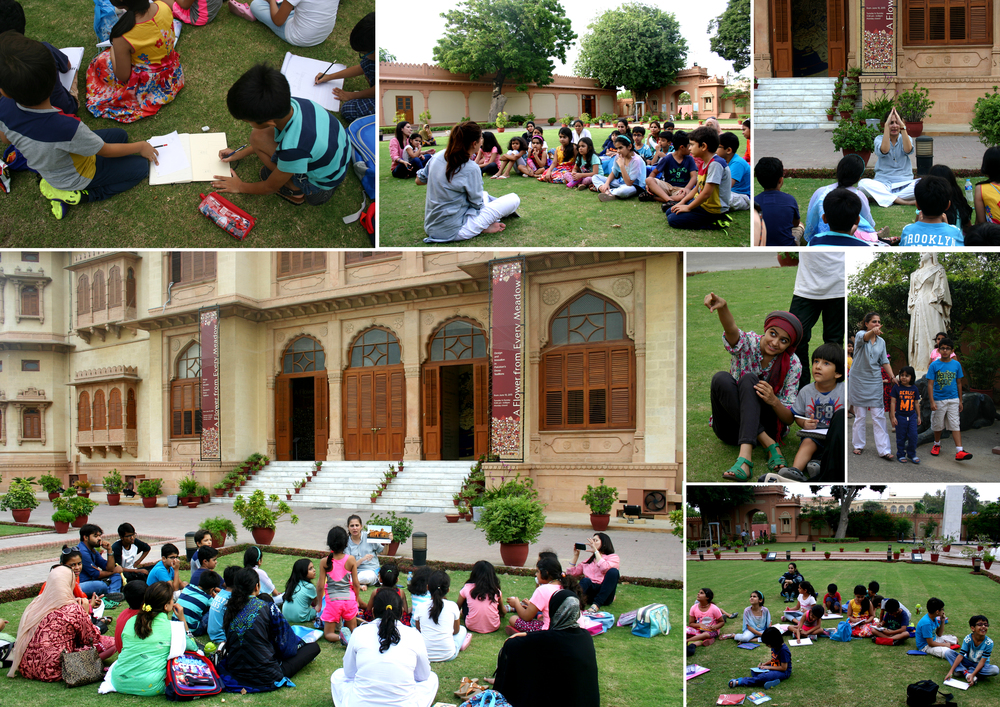 HAP with Writers' Club at Mohatta Palace, Karachi | 5th August 2015.