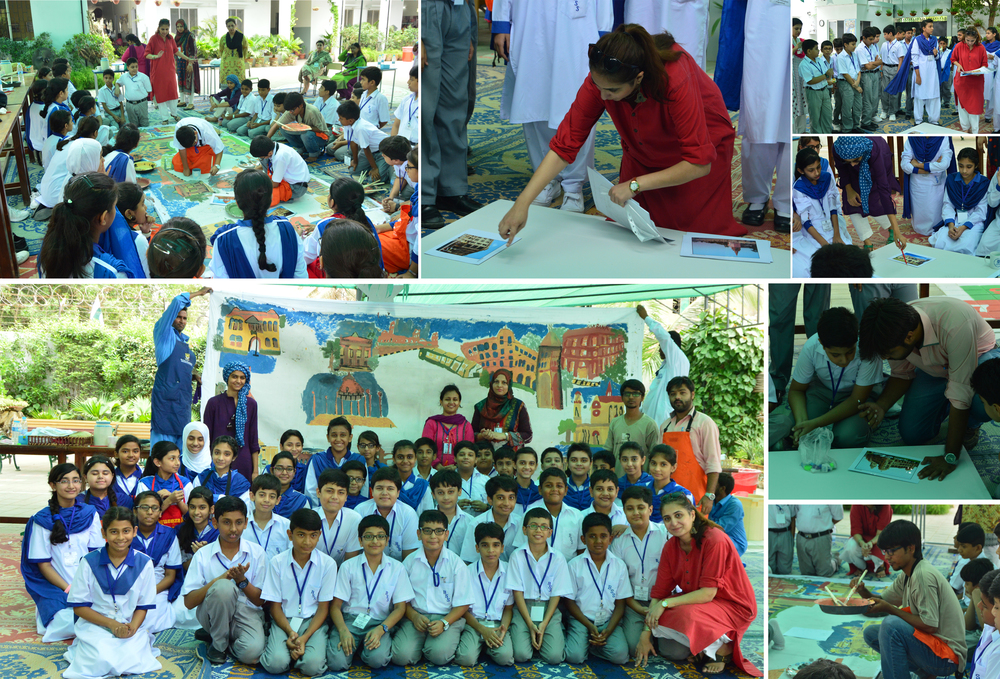HAP Session at Beaconhouse School System (Primary Branch), Nazimabad, Karachi. | 17th August 2015.