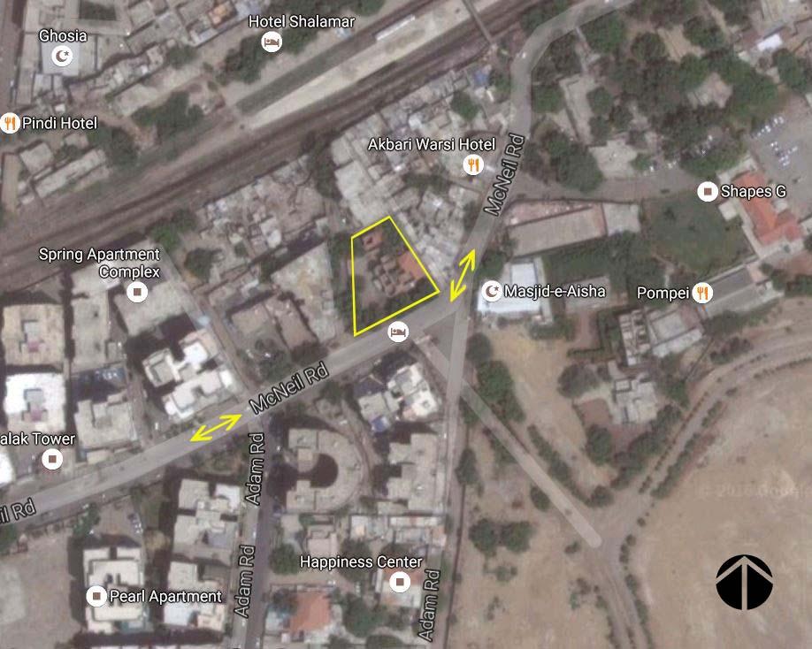 Bungalow at McNeil Road, Railway Quarters, Karachi