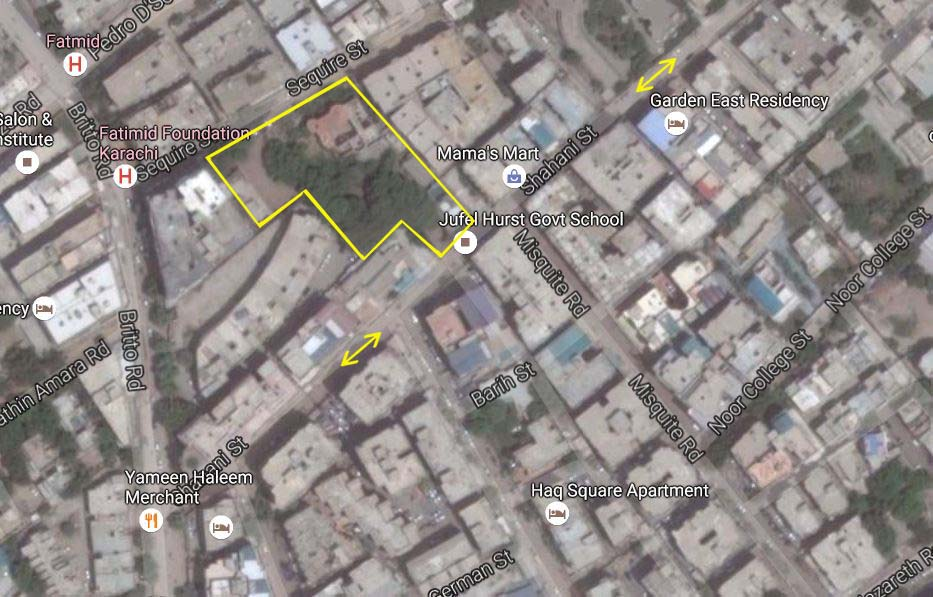 Jufel Hurst School at Shahani Road, Karachi