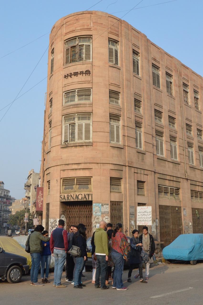 The Sarnagati Building at Pakistan Chowk | Copyright Marvi Mazhar & Associates