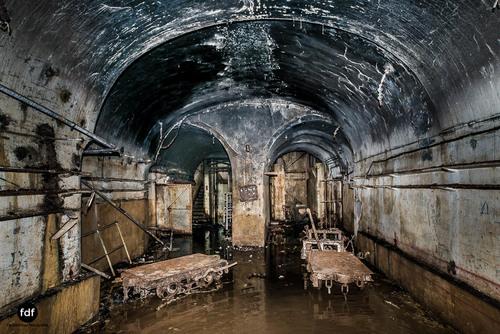 Latiremont Maginot Linie Bunker Dark Place Unterirdisch Armee Frankreich Weltkrieg