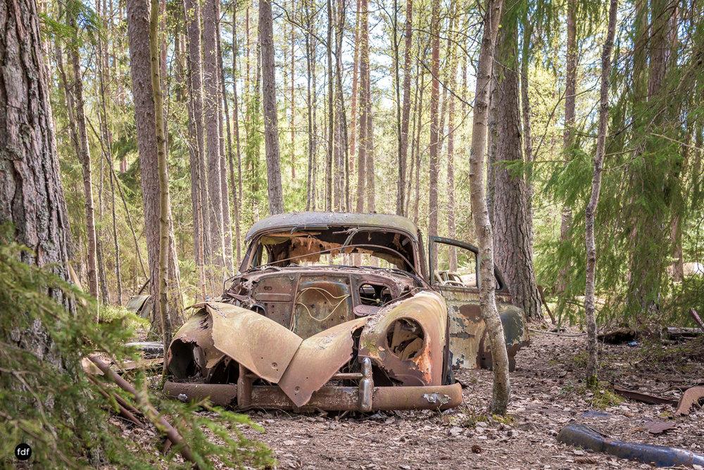 Forgotten Cars-Autofriedhof-Schrott-Lost Place-Schweden-9.JPG