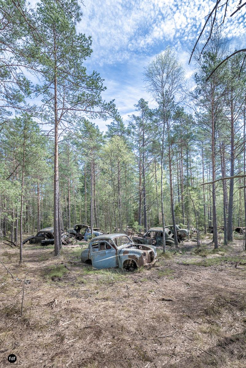 Forgotten Cars-Autofriedhof-Schrott-Lost Place-Schweden-18.JPG
