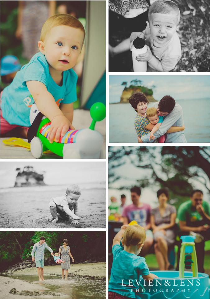 One year cute baby boy birthday celebration {Kids event photographer Auckland NZ}