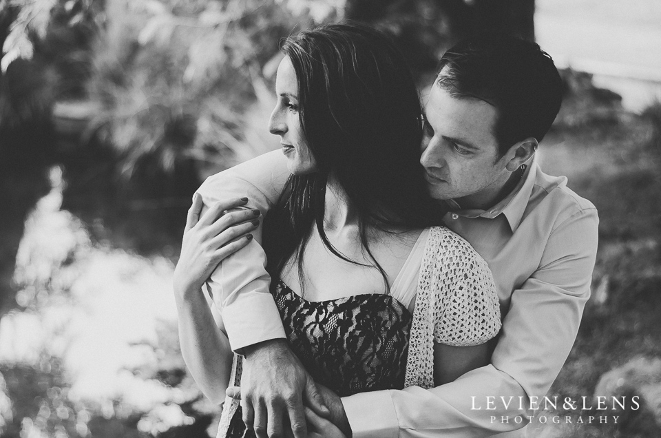 Romantic retro couples photo shoot {Auckland engagement photographer}
