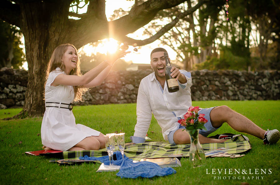 Cornwall park stunning couples love story {Auckland engagement-wedding photographer}