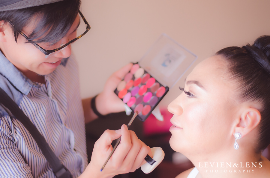 Makeup in Photography {Auckland documentary wedding photographer}