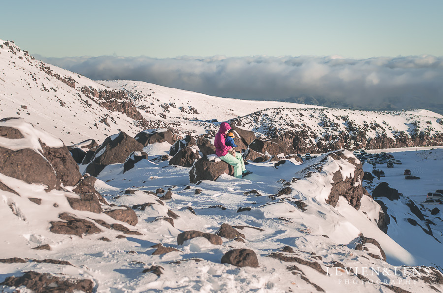 Snowy mountains Lake Taupo-Ruapehu destination session | Lifestyle photographer Auckland-Waikato-Bay of Plenty