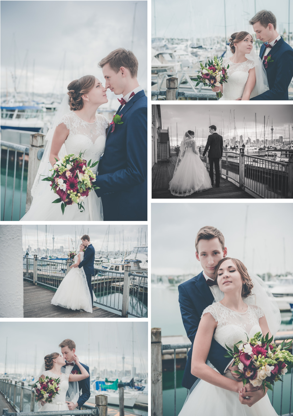 Royal New Zealand Yacht Squadron | Russian Orthodox Church | Auckland wedding photographer