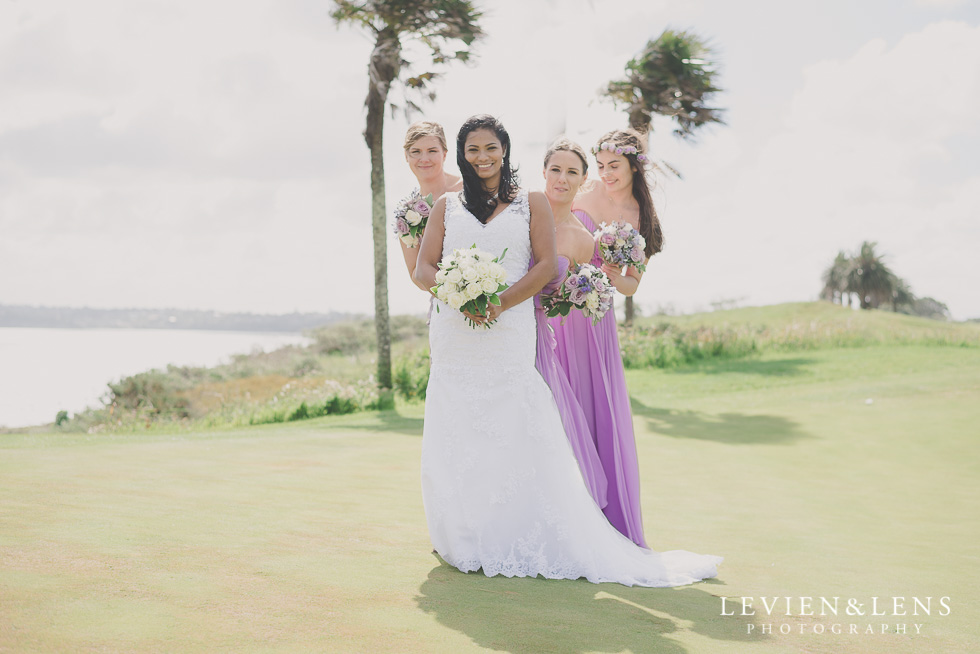 bridal party Formosa Golf Resort {Auckland-Hamilton wedding-engagement-couples photographer}