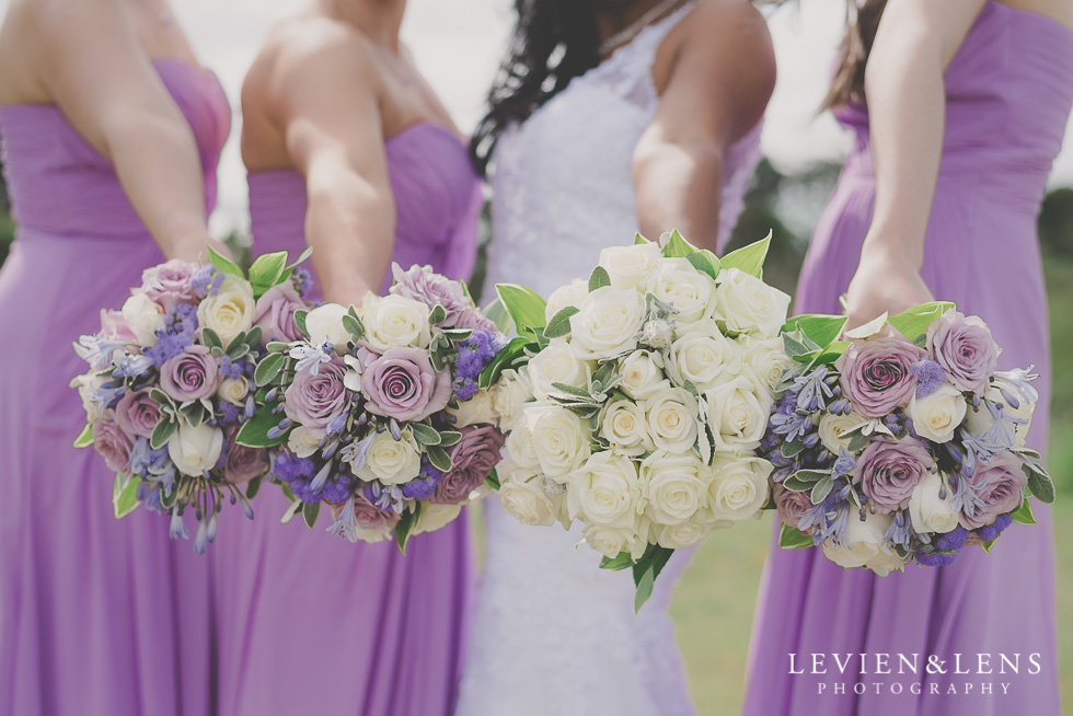 flowers bridal party Formosa Golf Resort {Auckland-Hamilton wedding-engagement-couples photographer}