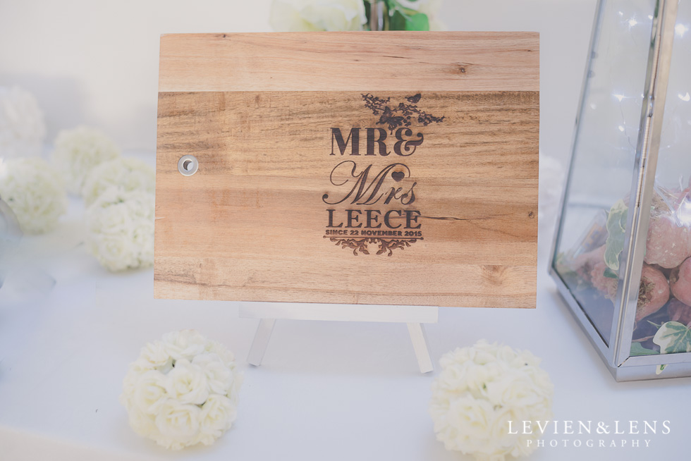 reception details Formosa Golf Resort {Auckland wedding photographer}