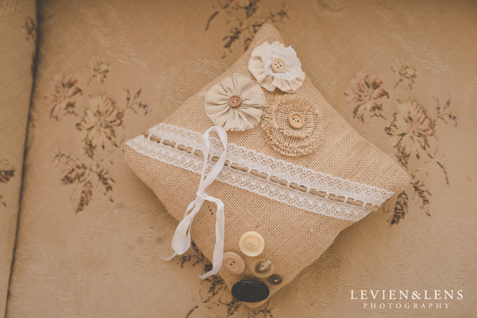 ring pillow {Auckland-Hamilton wedding photographer}