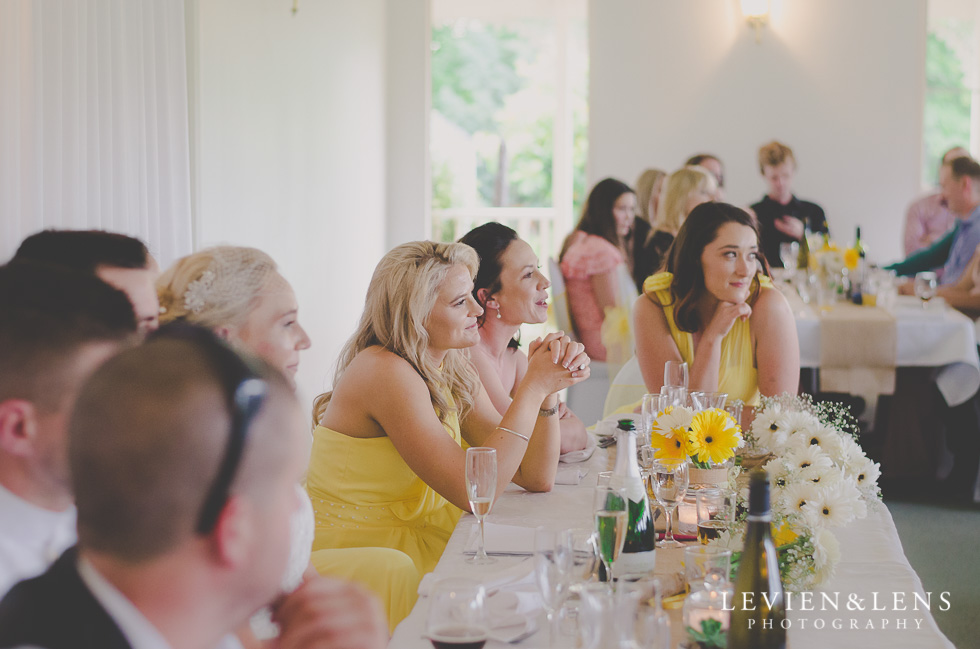 bridesmaids on reception {Auckland-Hamilton wedding photographer}