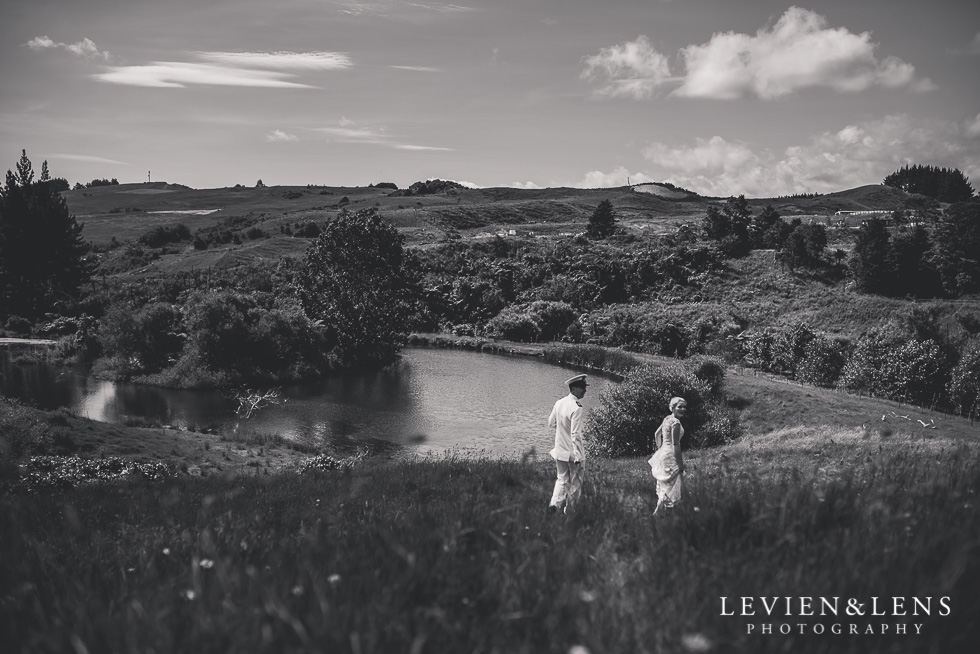 Footbridge Lodge Wedding {Auckland couples photographer}