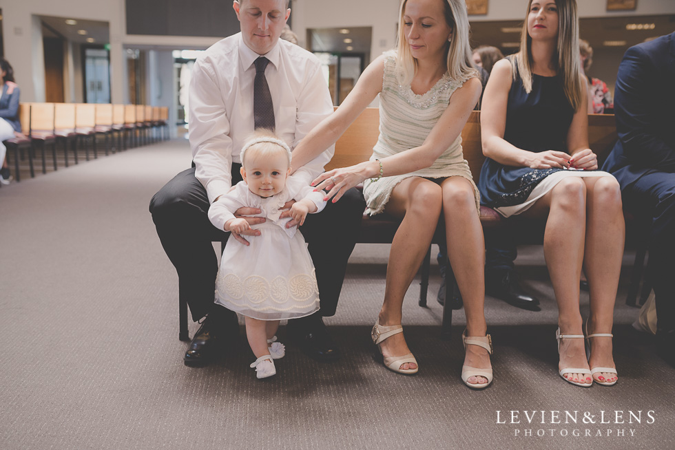 newborn girl baptism ceremony {Auckland-Hamilton family-event photographer} Cathedral of the blessed Virgin Mary