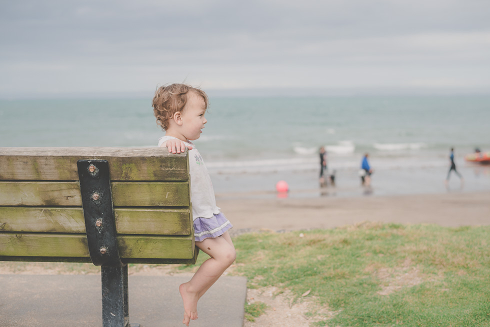 girl bench beach 365 Project 2015 {Auckland-Hamilton lifestyle photographer}