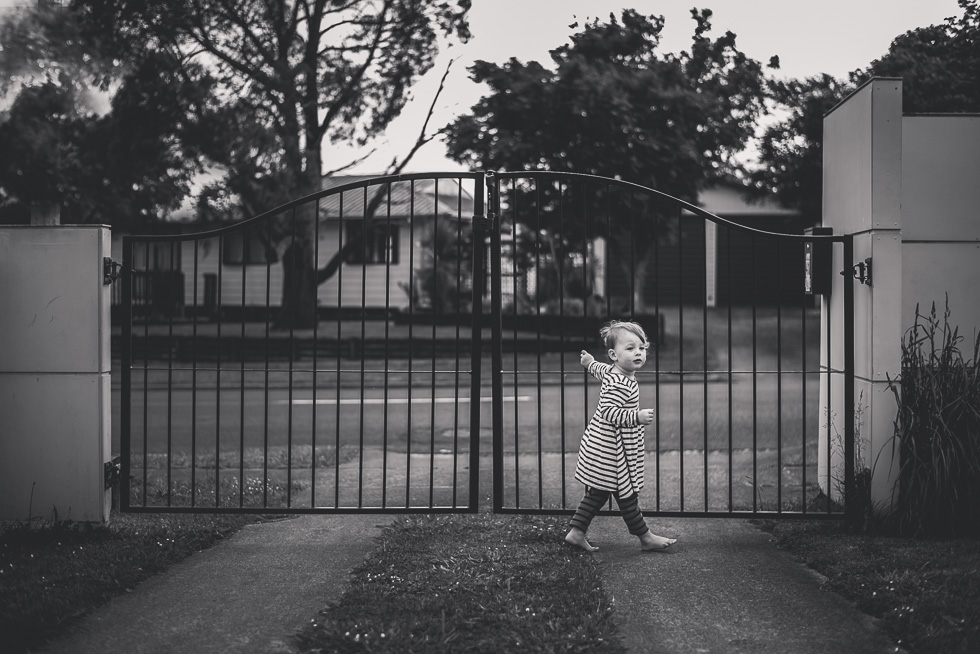 girl gates drive way 365 Project 2015 {Auckland-Hamilton lifestyle photographer}