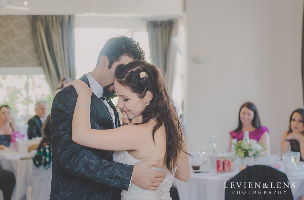 first dance reception Parnell on the Rose Garden {Auckland lifestyle wedding photographer}