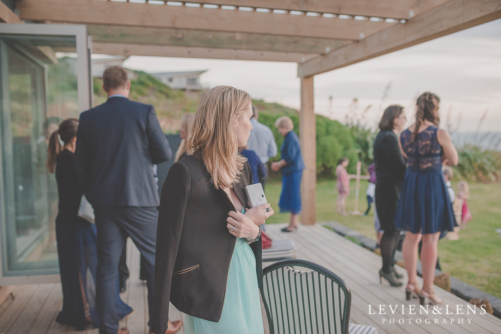 guests reception Castaways {Auckland wedding-engagement-couples photographer}
