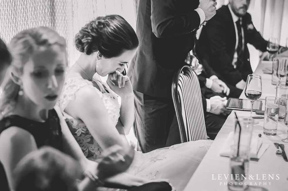 reception speeches Castaways Auckland wedding photographer