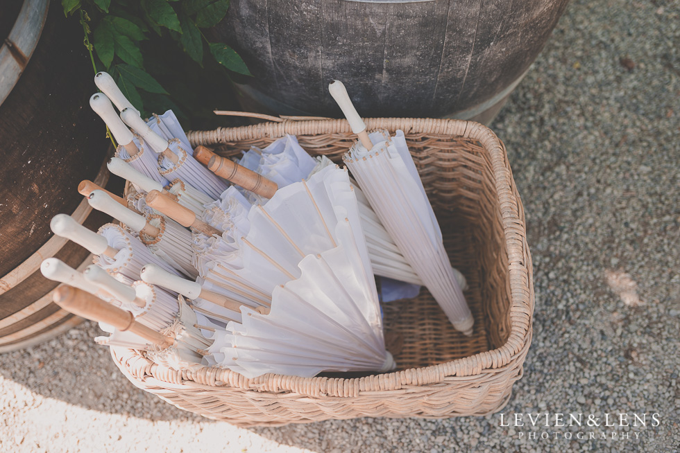 umbrellas Ataahua Garden Venue {Tauranga wedding photographer}