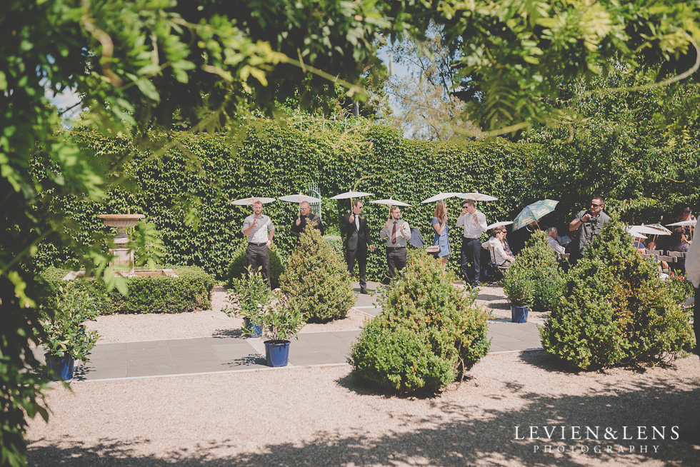 ceremony site guests Ataahua Garden Venue {Tauranga wedding photographer}