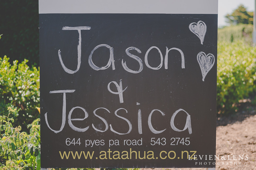 sign with couples names {Tauranga-Bay of Plenty wedding-couples-engagement photographer}