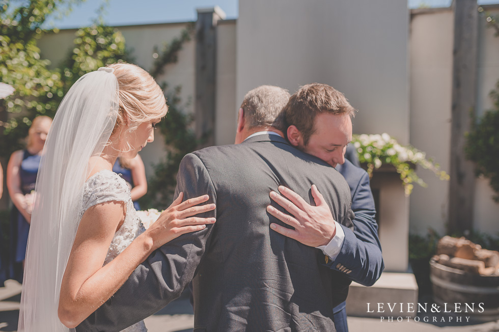 father give bride a way {Tauranga-Bay of Plenty wedding-couples-engagement photographer}