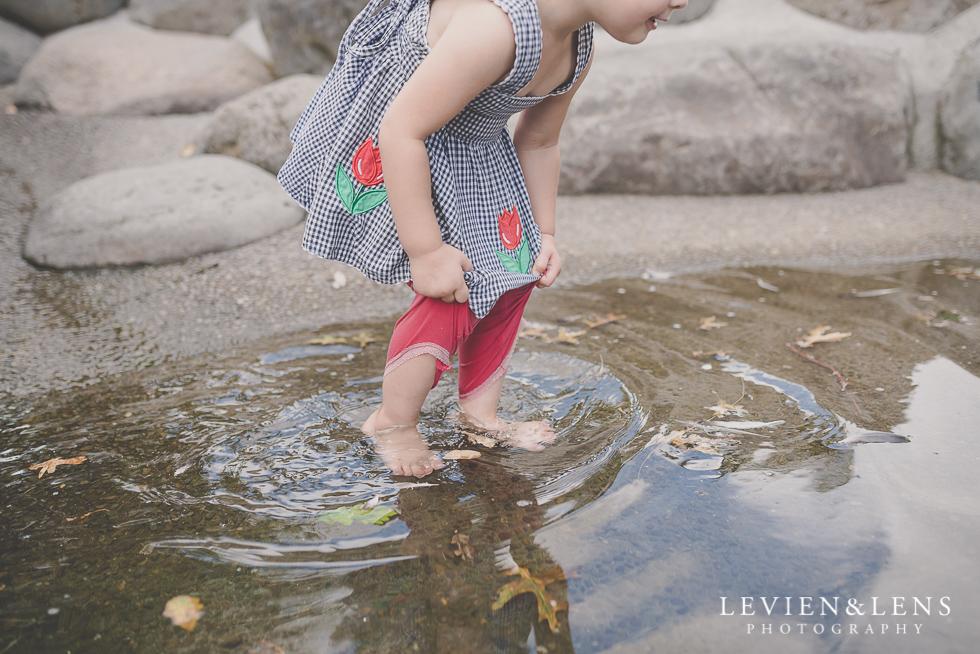 girl in water {Auckland-Hamilton-Tauranga kids photographer}