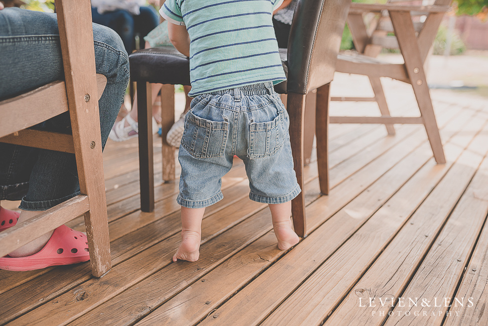 boy standing 1 year {Hamilton family-kids-newborn lifestyle photographer}