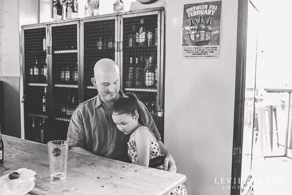 father and daughter Good George party {Hamilton event photographer}