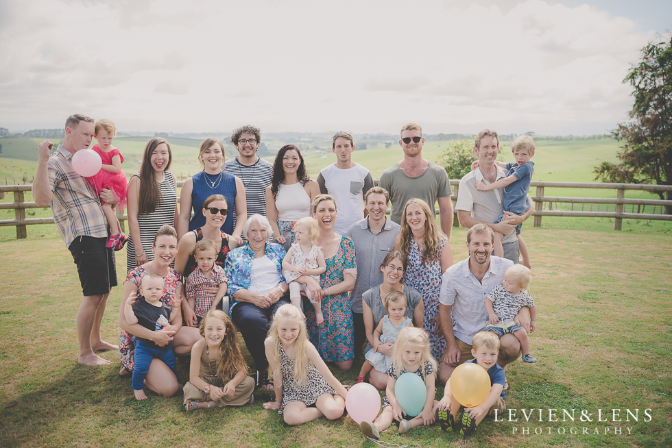grandchildren Nana's 90 {Auckland-Hamilton-Morrinsville event photographer}