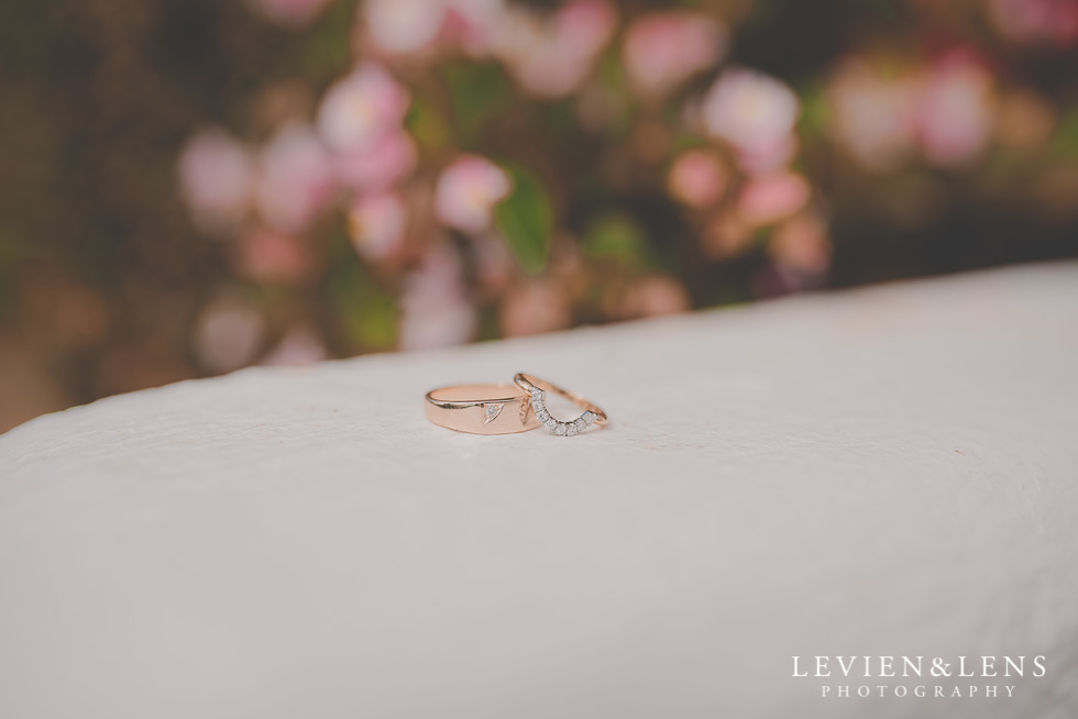 rings details {Auckland wedding photographer}