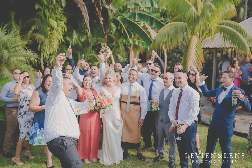 formals after ceremony Landscendt Tropical Garden {Auckland lifestyle wedding photographer}