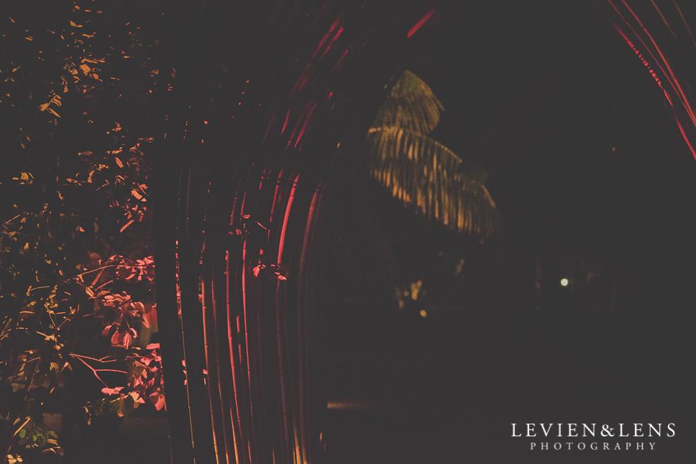 Landscendt Tropical Garden reception night {Auckland-Waikato-Bay of Plenty wedding photographer}